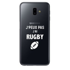 coque samsung a6 plus rugby