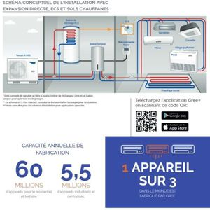 POMPE À CHALEUR VERSATI III monobloc MB10F3- 10 kW -25° pompe a ch