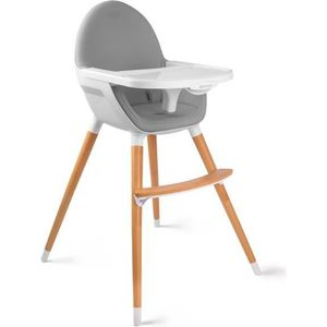 CHAISE HAUTE  Kinderkraft Chaise haute bébé évolutive 2 en 1 FIN