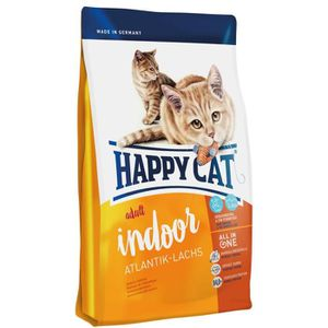 CROQUETTES Happy Cat Fit-Well Indoor Croquette Saumon pour Ch