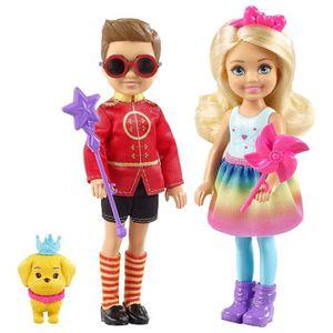coloré Playset, Barbie FTV98 Fantasy de conte de fées Portable Château dreamtopia