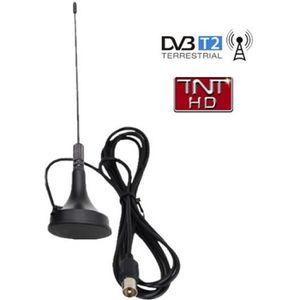 ANTENNE RATEAU Antenne terrestre intérieure TNT HD DVB-T Fiche IE