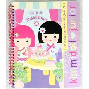 JEU DE COLORIAGE - DESSIN - POCHOIR Cahier d'activités (coloriage ) Kimmidoll Junior