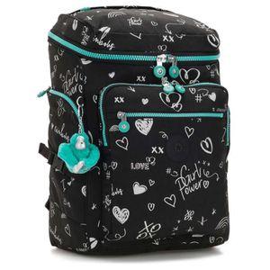 9 liters 32 cm Multicolore Kipling Heart Backpack Sac /à Dos Enfants Monkey Play