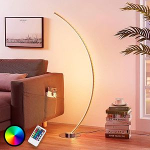 LAMPADAIRE LAMPENWELT lampadaire LED en arc - Intensité varia