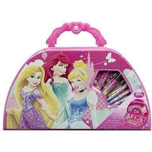 KIT DE DESSIN Coffret artistique transportable 49pcs Princesses