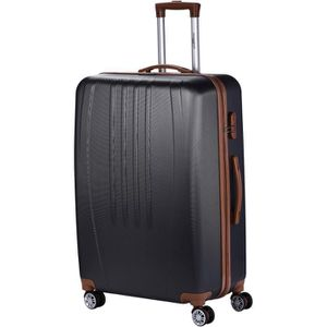 VALISE - BAGAGE MANOUKIAN Valise Chariot ABS  4 Roues 72 cm Gris F