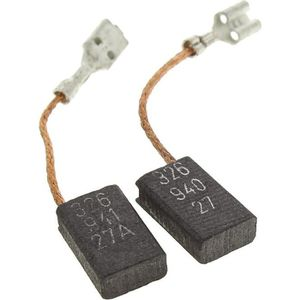 Balais de Charbon pour AEG Coupeuse//Scie AG750-125 6x9x15,5mm