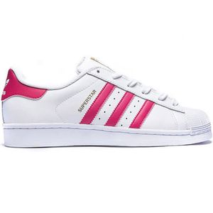 BASKET Adidas Originals Superstar Blanc / Rose FEMME