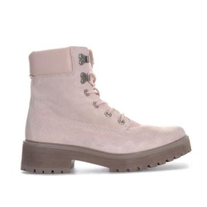 8b7d74f631a BOTTINE Timberland Boots Carnaby Cool 6 Inch Rose Femme