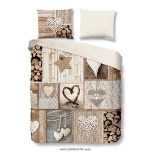 HOUSSE DE COUETTE ET TAIES GOOD MORNING Parure de couette 100% coton Romantic