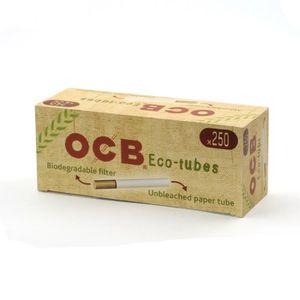 TUBE À CIGARETTE Boite 250 Eco-Tubes avec Filtres Biodégradables -