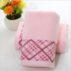 SERVIETTES DE BAIN STOEX Rose lot de 2 Serviettes de toilette coton 3