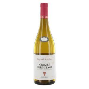 VIN BLANC Empruntes du Rhône 2018 Crozes-Hermitage - Vin bla