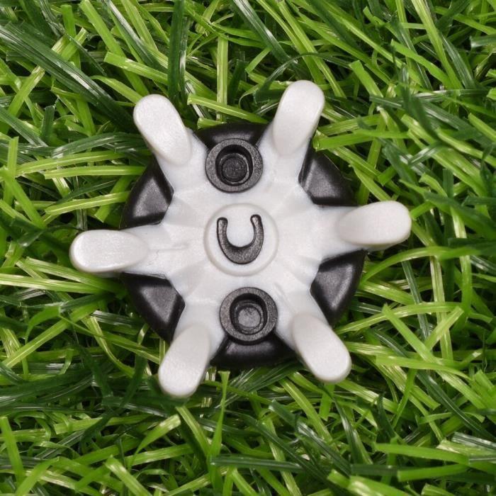 Goupilles antidérapantes pour chaussures de Golf, 14 pièces, rotation rapide des vis, accessoires pour les clubs de [E0D0406]