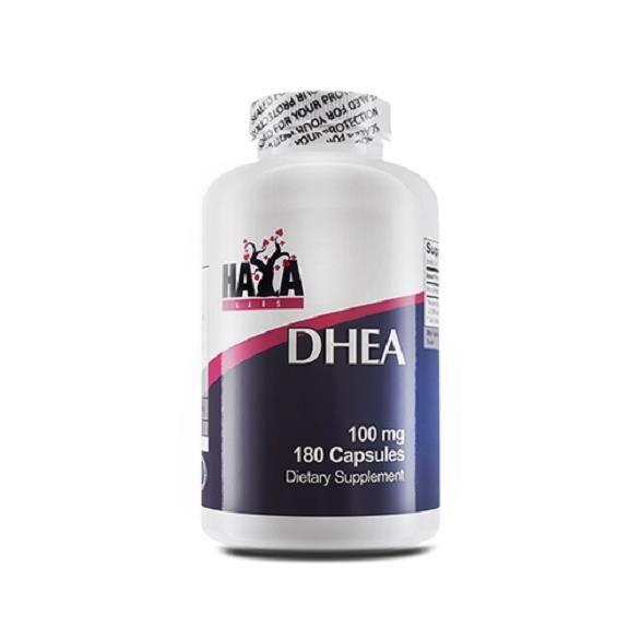 HAYA LABS DHEA --- 180 capsules x 100 mg