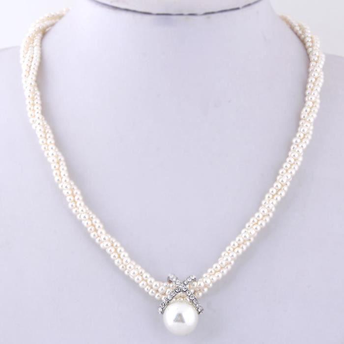 Collier perle modèle Tirre