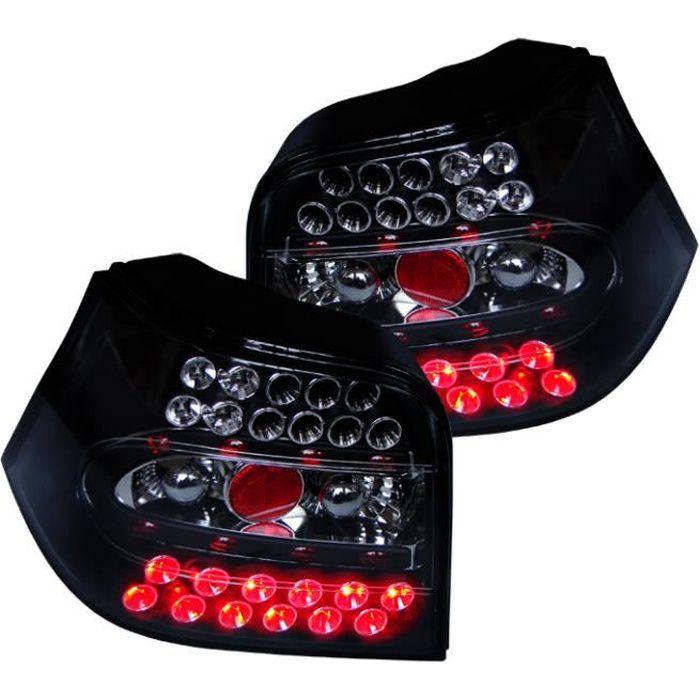 feux arrières design, noir, LED GOLF 4, Berline 97-03 Berline, +LED pour: Volkswagen Golf IV 97-03