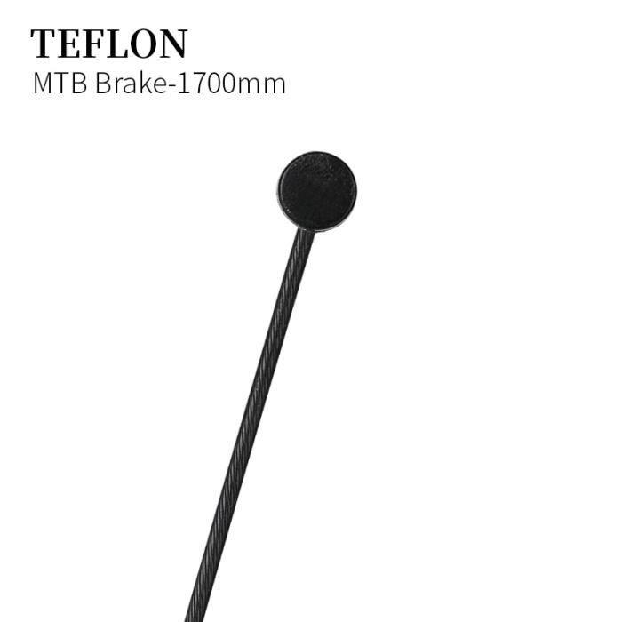 Pièce Détachée,Câble de Transmission de bicyclette, câble de frein en téflon ligne de Deraillleur vtt, - Type MTB Brake-1700mm