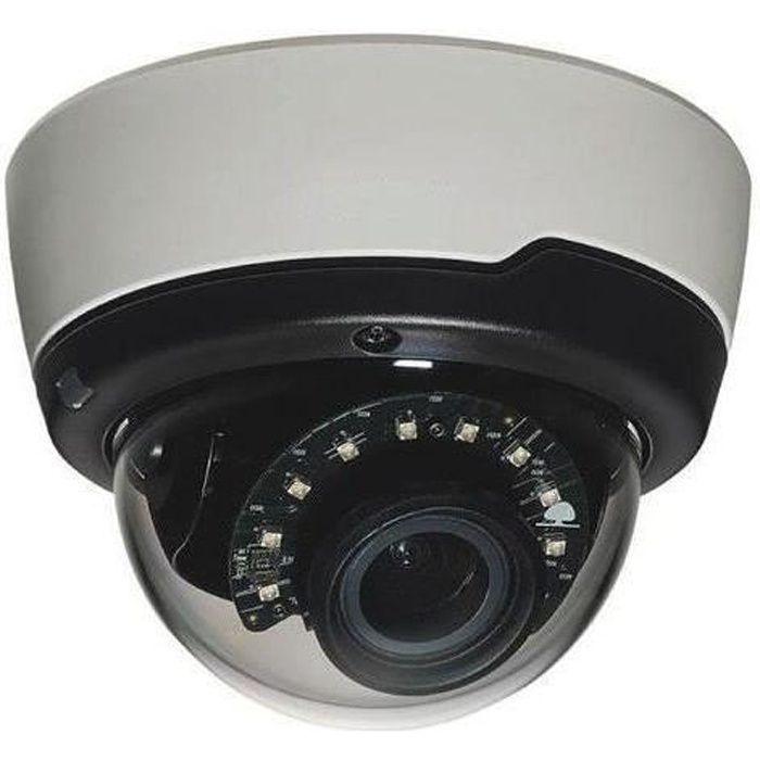 Bosch FLEXIDOME IP outdoor 4000i, Caméra de sécurité IP, Extérieur, Dôme, Blanc, Plafond-mur, Résistant aux rayures