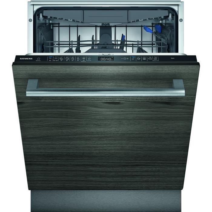 Lave-vaisselle tout intégrable SIEMENS SN65ZX54CE iQ500 - 14 couverts - Induction - L60cm - 41 dB