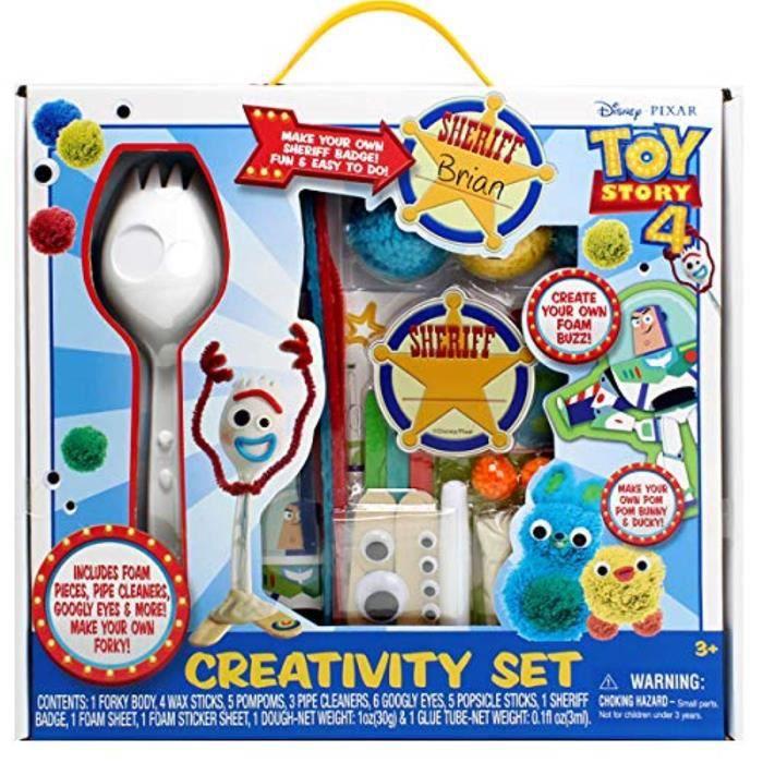 Disney Toy Story 4 Créez votre propre forky Craft Set forky Modèle /& Accessoires