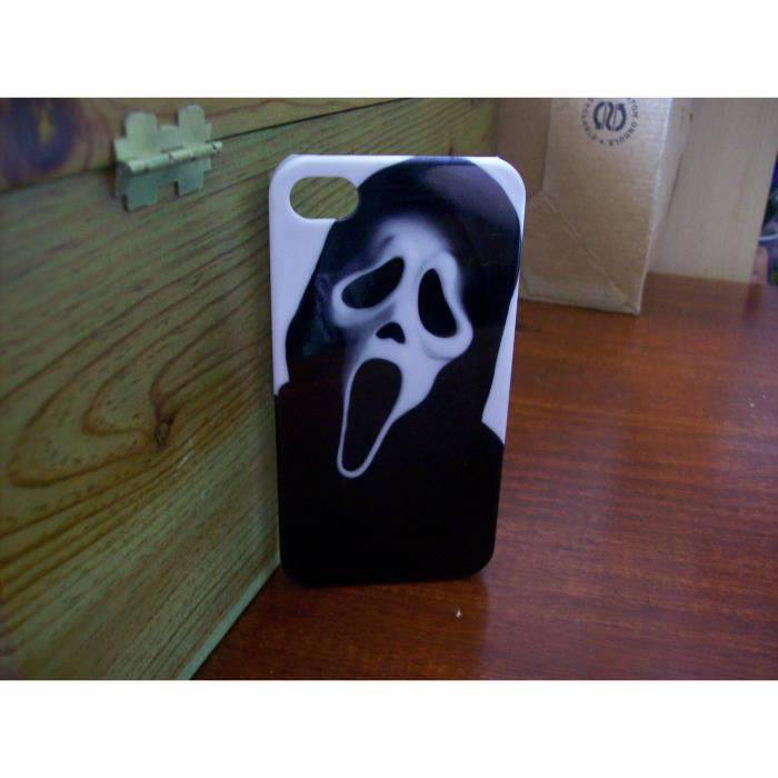 coque scream iphone 4 4s neuf motif a achat coque. Black Bedroom Furniture Sets. Home Design Ideas
