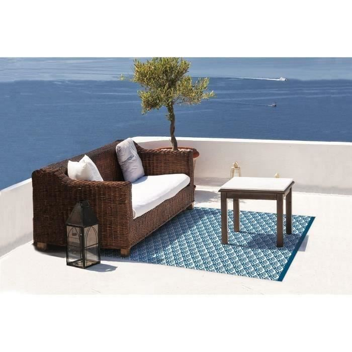 tapis d 39 ext rieur santorin en polypropyl ne recycl. Black Bedroom Furniture Sets. Home Design Ideas