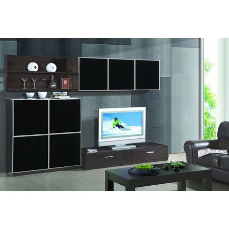 viva ensemble meuble tv hifi finition luxe mt 1 achat vente meuble tv viva ensemble. Black Bedroom Furniture Sets. Home Design Ideas