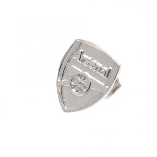 Arsenal FC Sterling Stud Argent