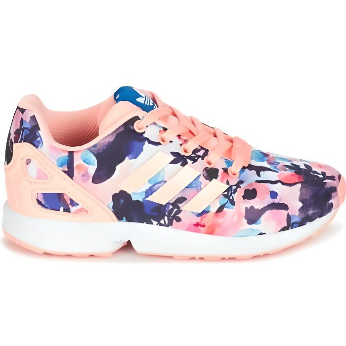 Chaussures ZX Flux C Flowers Cadet e17 adidas Originals