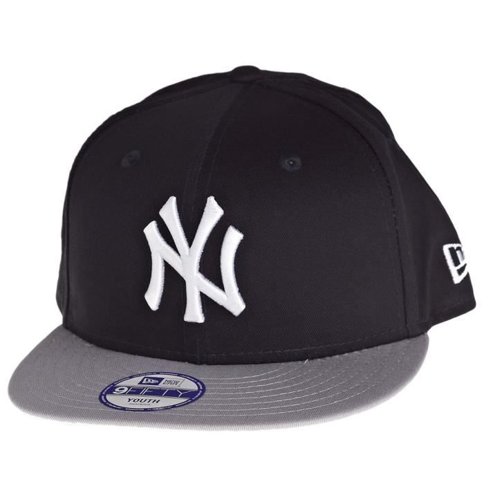 e890656ccd1c New Era 9Fifty Snapback KIDS Casquette - NY Yankee Noir - Achat ...