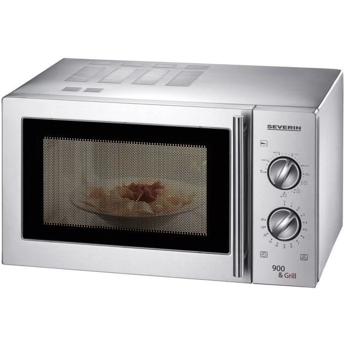 Four micro ondes 23 l severin 900 w achat vente for Cuisson betterave micro onde