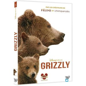 DVD DOCUMENTAIRE DVD Grizzly