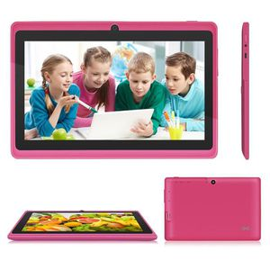 TABLETTE ENFANT Rose Tablette tactile enfant Allwinner A33 Capacit
