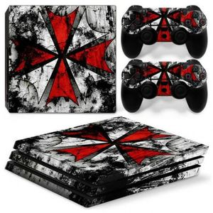 STICKER - SKIN CONSOLE Version 1 - Resident Evil Amovible Vinyle Decal Co