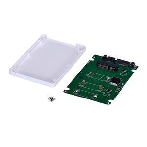 HOUSSE TABLETTE TACTILE Mini SSD mSATA pcie Pour 2.5inch SATA3 carte adapt