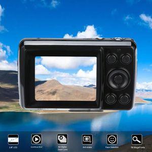 APPAREIL PHOTO RÉFLEX  2.4HD Caméscope à détection de visage anti-trembl