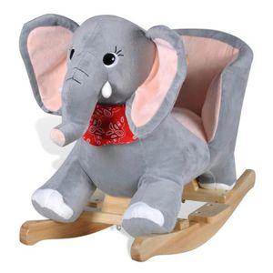 JOUET À BASCULE Éléphant à bascule pour bébés-FUT