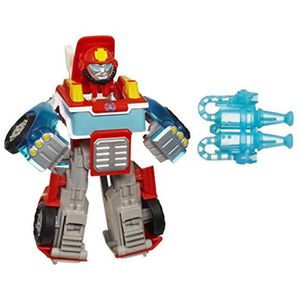 TRANSFORMERS playskool Rescue dynamiser Chase the Police-bot Figure enfants jouet cadeau