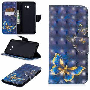 HOUSSE DE CHAISE Coque Samsung Galaxy J4 Plus,PU Cuir Portefeuille