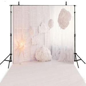 FOND DE STUDIO 150x200cm  Toile de fond en vinyle blanc de pour l