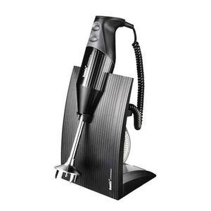 MIXEUR ÉLECTRIQUE bamix-Swissline Black 200W-Robot de Cuisine m