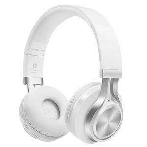 CASQUE - ÉCOUTEURS 4 EN 1 Stéréo Casque Bluetooth Sans fil Écouteur S