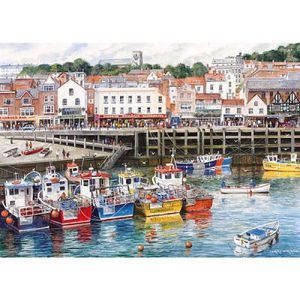 PUZZLE Puzzle 1000 pcs - Port de pêche de Scarborough