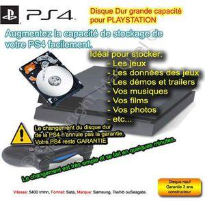 DISQUE DUR INTERNE Disque Dur 500 Go + Support Disque Dur Pour PS3 et