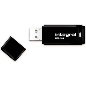 CLÉ USB INTEGRAL - Clé USB - 32 Go - USB 3.0 - Noir