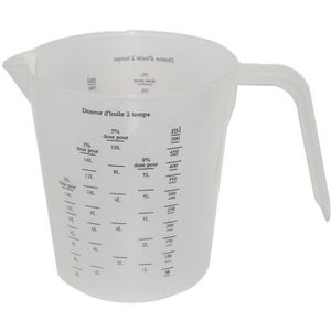 ALIMENTATION DE JARDIN JARDIN PRATIC Doseur d'huile pour mélange 2 temps