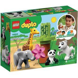 ASSEMBLAGE CONSTRUCTION LEGO® DUPLO® Ma ville 10904 Les bébés animaux