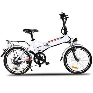 VÉLO ASSISTANCE ÉLEC Vélo électrique de montagne pliant 20'' -22-30 km/
